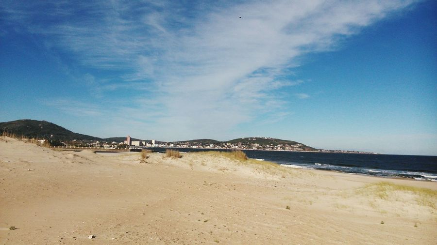 Sand Beach Sea Water Sky Tranquility Tourism Outdoors Coastline Landscape Travel Destinations Beauty In Nature Nature Scenics Tranquil Scene Vacations Sand Dune Horizon Over Water Cloud - Sky Day Piriapolis Uruguay No People Nature Uruguaynatural Cityscape