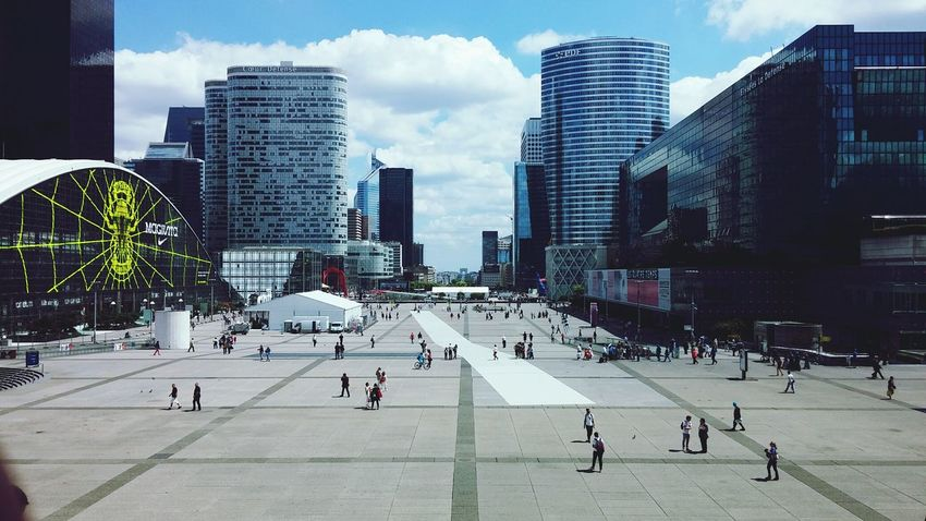 City France, Paris, La Defense