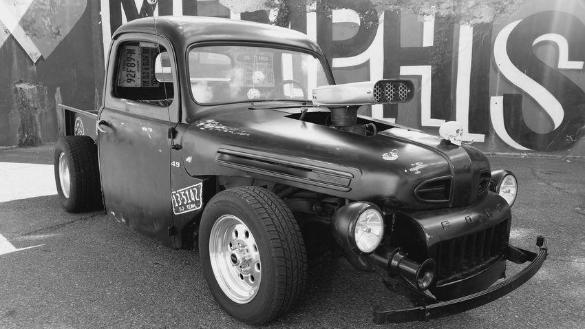 RatRod Rat Rod Ford Truck Memphis HotRod Hot Rod Graffiti