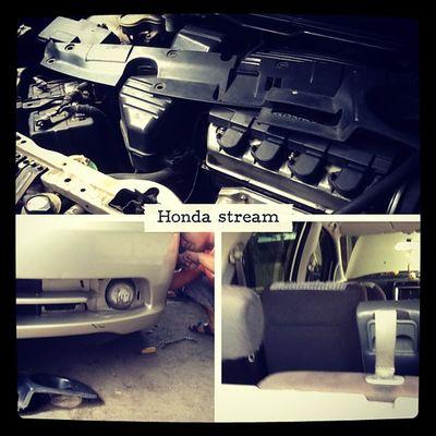 Picframe Honda Stream Service headlamp foglamp seatcover