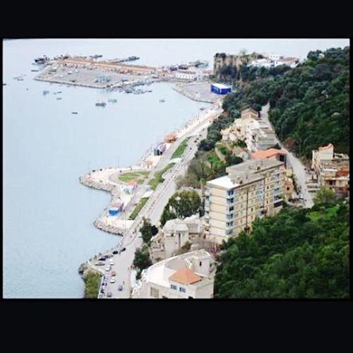Bejaia Béjaia .Algeria. Aerial View Day La Brise De Mer 😊 Relaxing Taking Photos Beauty In Nature Sea Rafik ...☮💟...