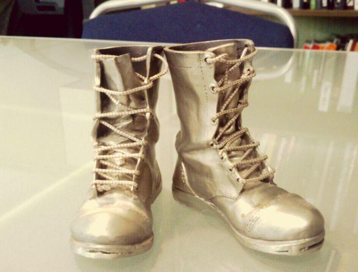 Declare A War Shoes Decor