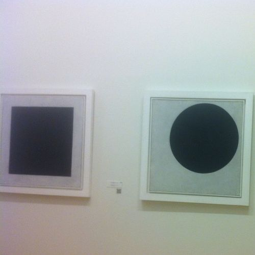 Kazemir Malevich Blacksquare Blackcircle artrussianmuseum