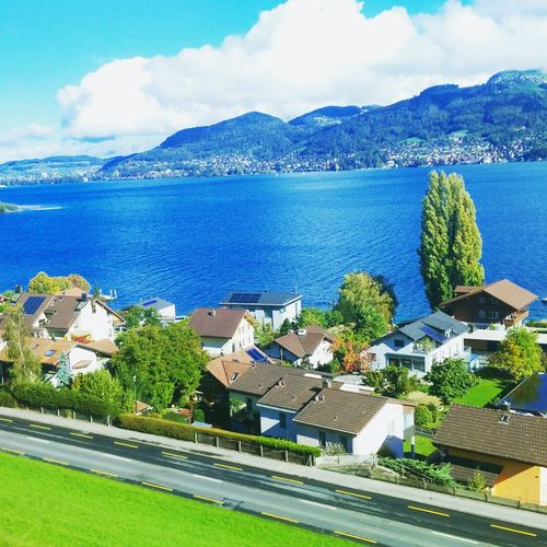 Spiez Switzerland Lake Taking Photos Swiss Sbbcffffs Bern Traveling Sunday Afternoon Hello World