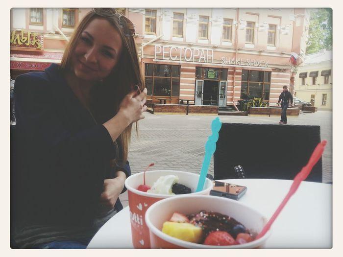 доброе утро, а у меня оно доброе с моей замечательной Сашечкой♥