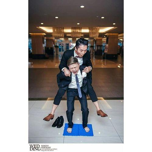 婚攝 婚禮 闖關遊戲 婚禮紀錄 Neko11 Neko 貓后粒系 迎娶 結婚式 Wedding Portrait Photography Funny 人像 寫真 Asian  Taiwan