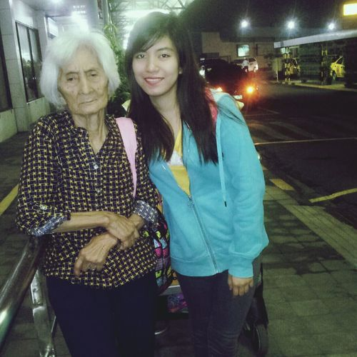 The one who stand as my mom n dad in 20 years. Missing My Grandma; HERO; Stay Strong And Healthy :-)