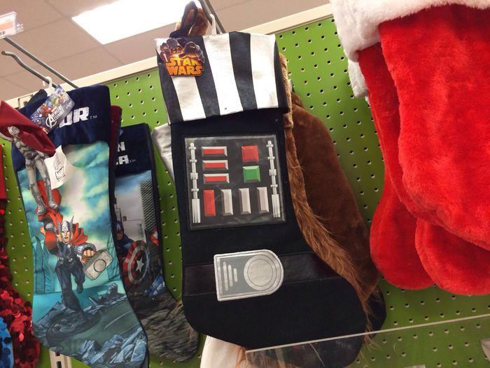 A Darth Vader Christmas stocking :)