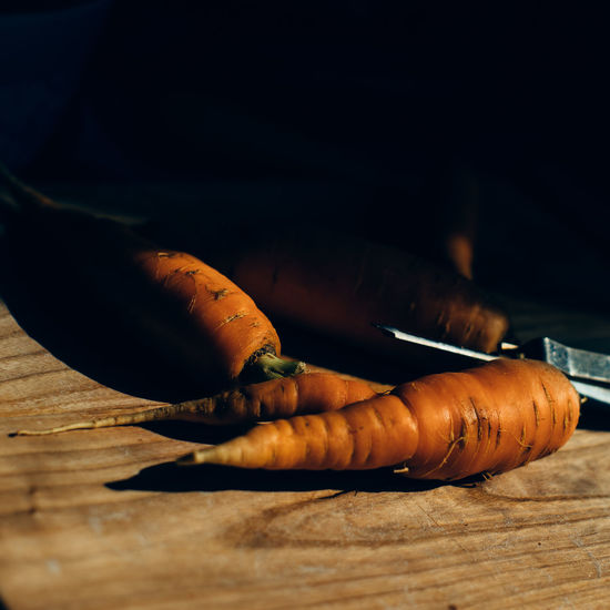 Carrots Cooking Cutting Board Cutting Boards Dirt Farm Freshness Freshness Orange Color Peeler Root Vegetable Vegetables