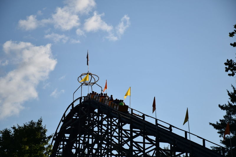 Vacations Amusement Park Rollercoaster Outdoors Sky Day Blue Sky Knoebelsgrove Knoebels Knoebel's Family Amusement Park, Elysburg, Pa