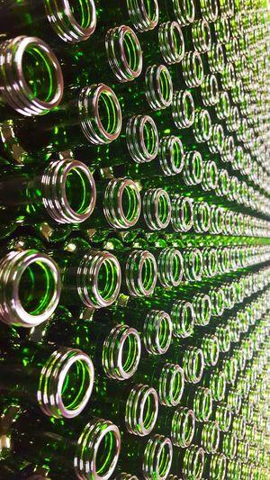 Botellas Botella Crystal Cristal Bottle Bottles Green Verde