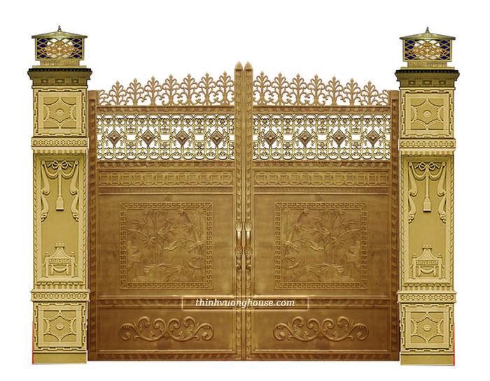 Cửa cổng biệt thự hiện đại đồng quê thanh bình - Mang lại cho bạn cảm giác thanh thản mỗi khi về nhà, thể hiện được phong cách của riêng bạn đó là cửa cổng biệt thự đồng quê thanh bình. Cửa Cổng Biệt Thự