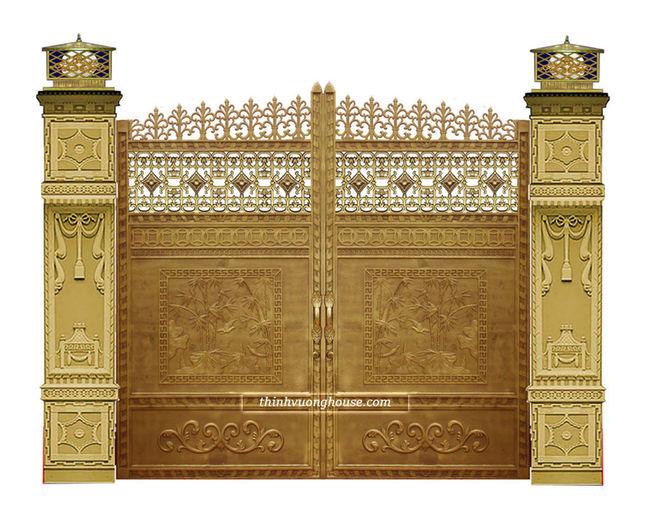 Cửa cổng biệt thự đồng quê thanh bình mang lại cho bạn cảm giác thanh thản mỗi khi về nhà, thể hiện được phong cách của riêng bạn. http://thinhvuonghouse.com/san-pham/cua-cong-biet-thu-dong-que-thanh-binh Cửa Cổng Biệt Thự