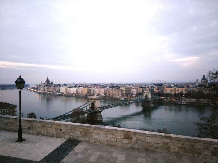Traveling Europe Hungary Budapest Budapest Love Landscape Landscape_Collection Landscape_photography View River River View Danube Danube River Landscapes With WhiteWallBridge Chainbridge Erasmus Photo Diary