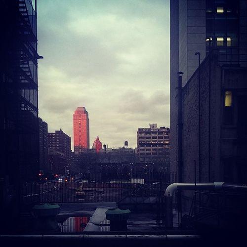 Brooklyn Sunset Cloudyday ViewOutside