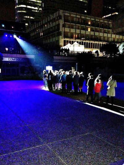 Ladefense Urbannight Paris France Lightshow