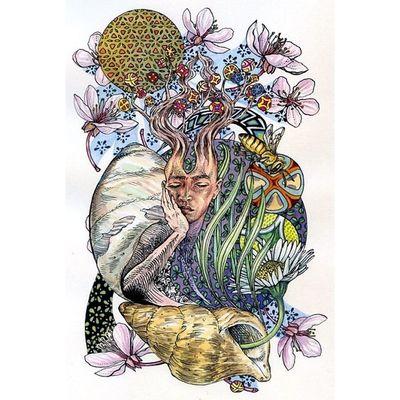 Psy Psyhavoc Psychedelic Psychedelicart LSD Lsdart Trippy Trip Acidtrip Psyart Illusions Mushrooms Lucy Instatrip