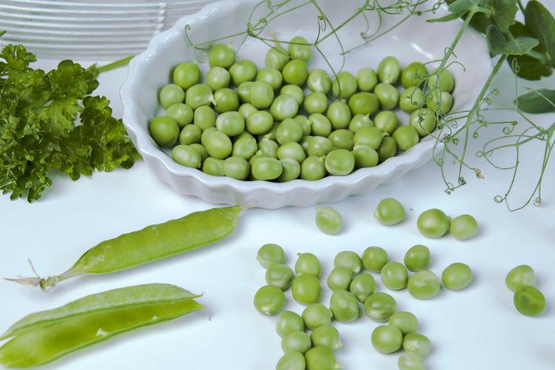 Close-up of pea