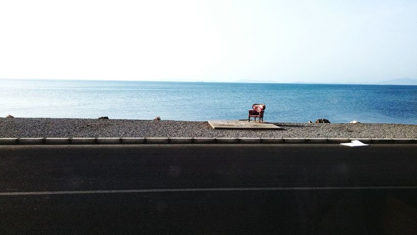 Enjoying Life Sea View Seaside Seaview Lonely Blue Sky Enjoy Life Lifestyle Couchlife