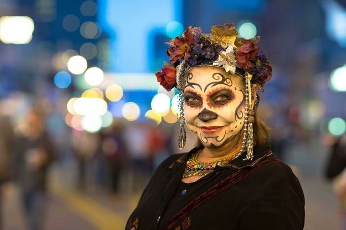 Happy Halloween Yearly Highball in downtown Columbus, Ohio Dayofthedead Halloween Highball