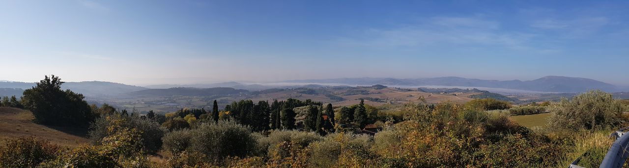 panorama Umbria Foschia Panorama Panoramic Panoramic Photography Umbria, Italy Italy🇮🇹 Nature Photography Perugia Italy Tree Mountain Flower Sky Landscape