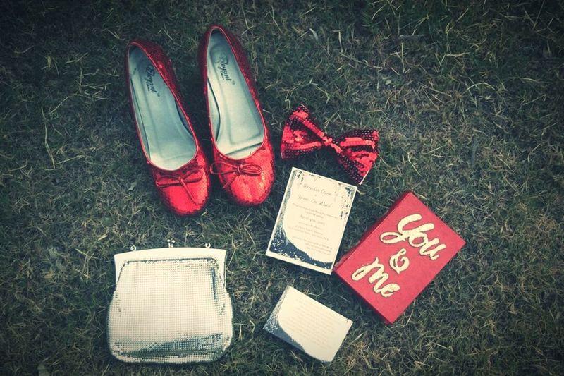 Wedding Weddingshoes Adelaide Jaimeandbrendan Weddinginvitation Ringbox Redshoes Love Dashphotography