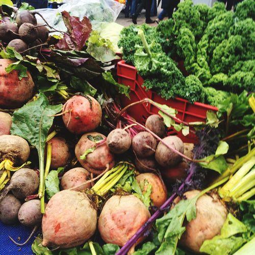 Fresh Autumn roots and greens Farmers Market Foodmarket Market Treaclemarket