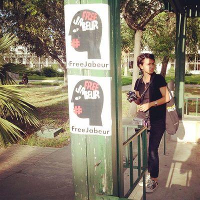 Sitin FreeJabeur a la place des droits de l'homme