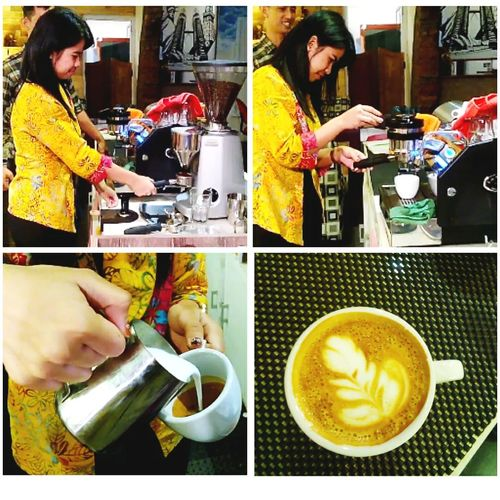 Beginner Latteart Espresso Lamarzocco Coffee Grinder Portafilter