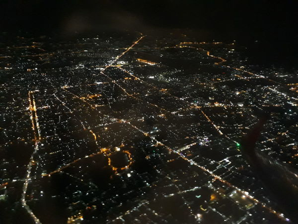 #Thailand #airplane #AirAsia Night Outdoors Illuminated Arts Culture And Entertainment Cityscape City