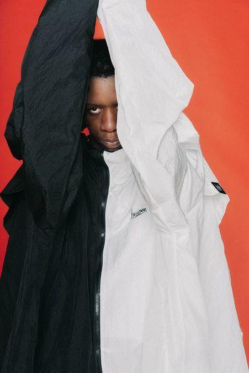 Men Fashion Portrait Close-up