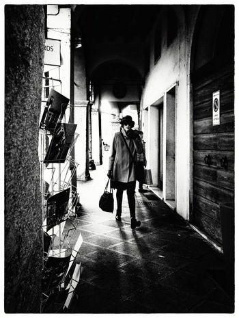 Arcades Day One Person Street Streetphotography Vicenza Walking Women