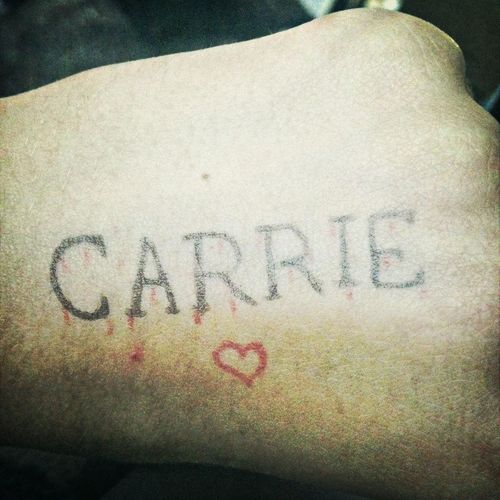 Whathappenedtocarrie Hand Drawing Film