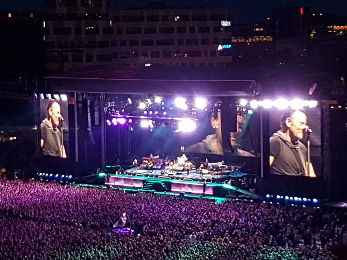 Bruce Springsteen, Ullevi Gothenburg 25 June 2016 Bruce Springsteen Ullevi The River Tour Gothenburg Magic Magic Moments Music