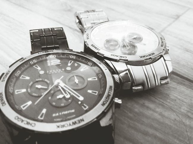 whats the time? two new watches. My Watches Watches Blackandwhite Photography Black And White