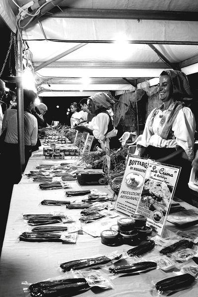 Sagra della bottarga (Cabras OR) Festa Collected Comunity Blackandwhite