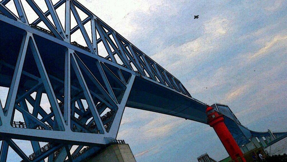 Tokyo Gate Bridge Airplane Popular Photos EyeEm Best Edits