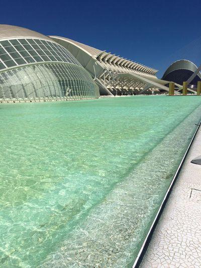 Oceanographic Travel València Architecture Built Structure City Modern