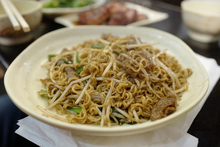 Food Food And Drink Indulgence Ready-to-eat Close-up Indoors  Freshness Noodles Noodle Bowl Temptation Hong Kong Street Food Plate Cooked Appetizer Spaghetti Meal Culture No People