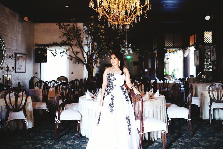 Classic Vintage Style Intramuros,manila Debutante Landscape Filipina Myself