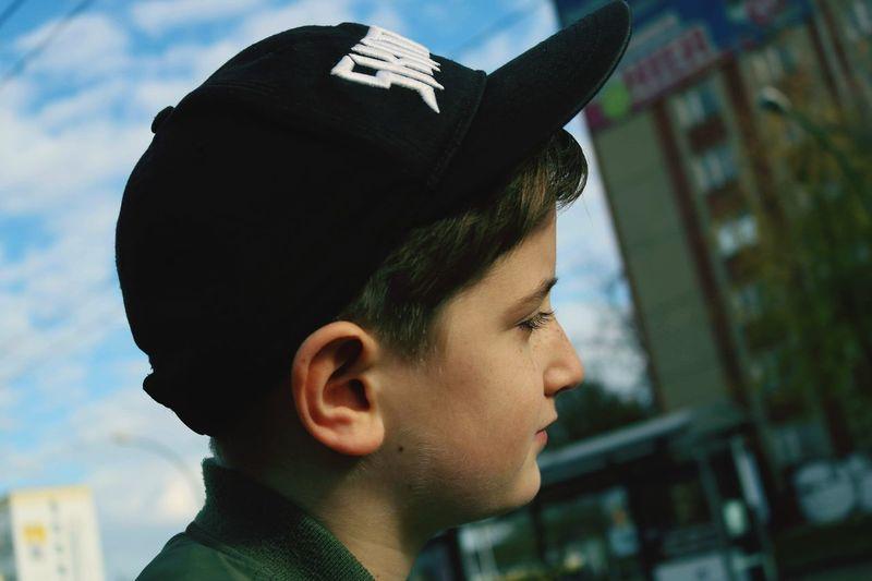 Skater boy Boys Boy Young Boy City Headshot Portrait Side View Profile View Mid Adult Close-up Sky The Portraitist - 2019 EyeEm Awards