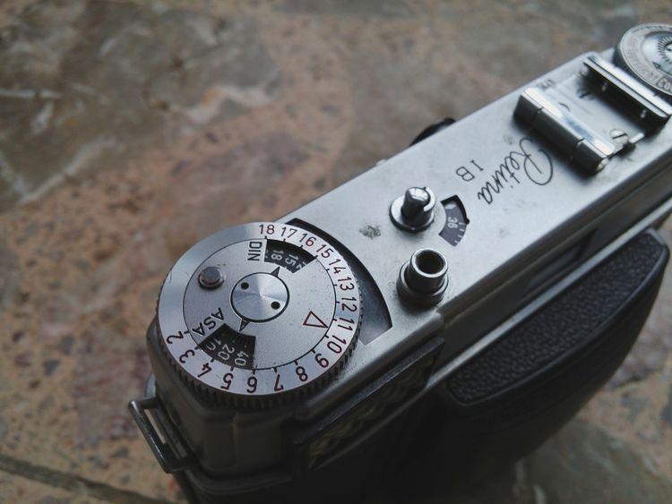 Kodak Retina 1bClose-up Metal No People Day Lieblingsteil Camera Old-fashioned Scale  Hotshoe Analog Analogcamera