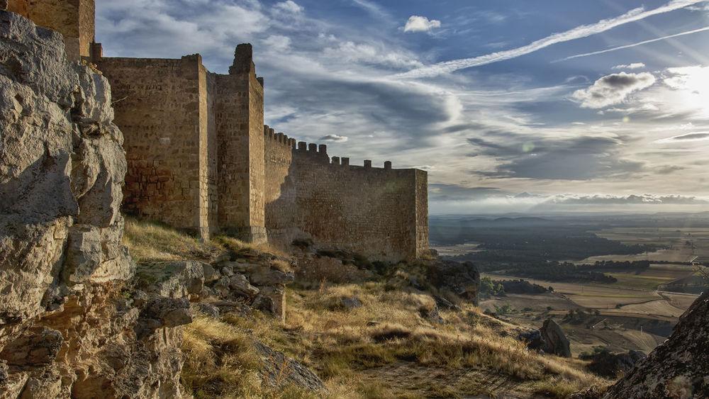 Castillo CASTILLO DE GORMAZ Castle Gormaz Nature Soria