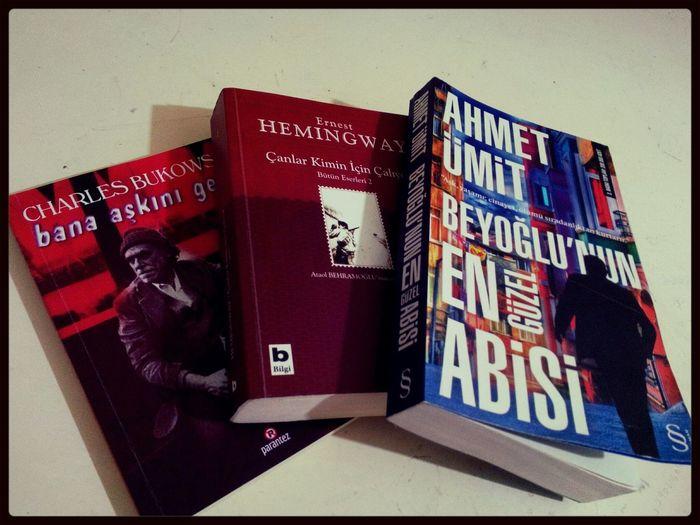 Charlesbukowski Hemingway Ahmetümit Books #book