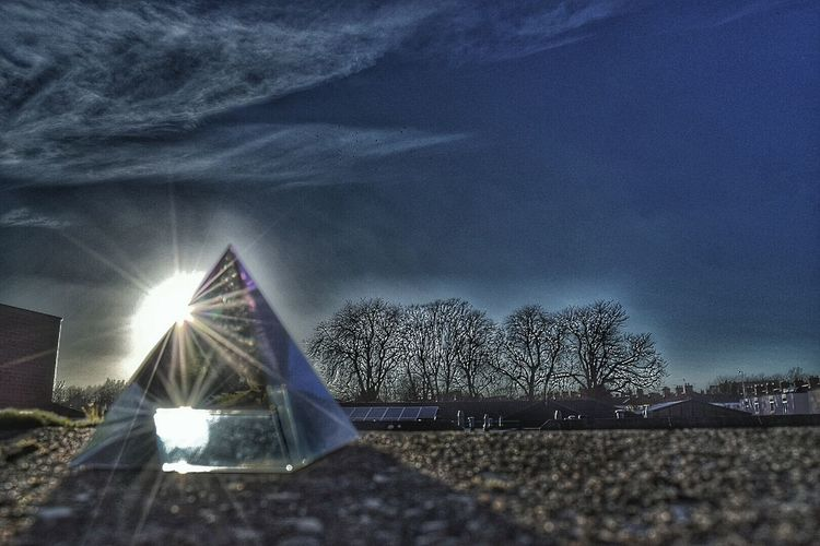 Glass Pyramid Sunrays Experimental Edit Taking Photos Tree_collection  Nikon D3300 From My Garden Eye For Photography Winter Trees
