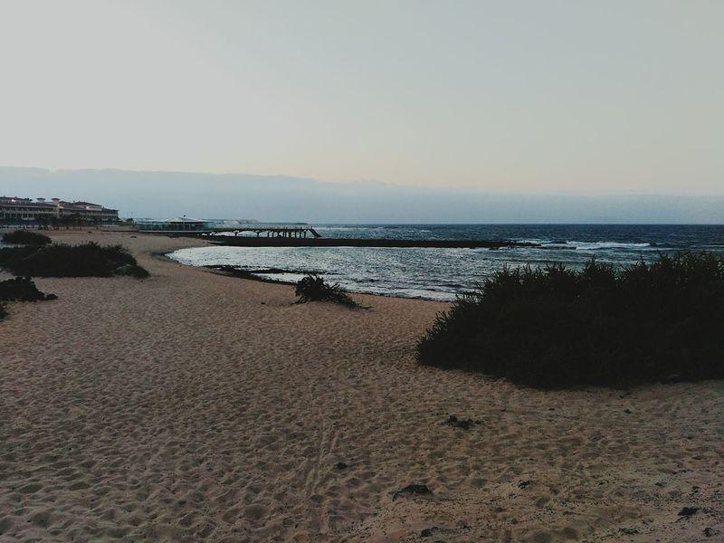 Beach Fuerteventura Wonderful Summer Sea Corralejo