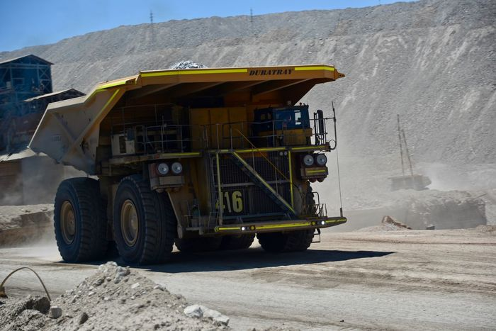 Chuquicamata Copper  Day Dumpling  Huge Land Vehicle Mine Outdoors Pit Tourism Transportation