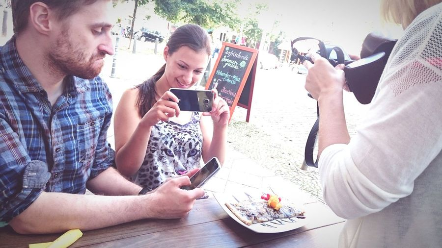 Taking Photos Of People Taking Photos Of Food Food Porn