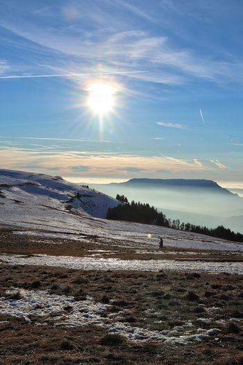 Mountain Mountain Range Snow Clouds And Sky Sunset Sunlight Sky Landscape Cloud - Sky Snowcapped Winter Cold Cold Temperature Snow Covered Frozen