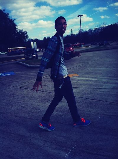 Off guard. But swag daddy.